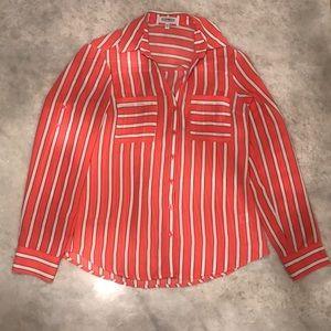 Express Original Fit Portofino Striped Shirt
